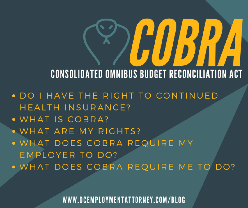 COBRA: Can I continue my health insurance coverage? - Alan Lescht